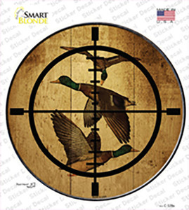 Duck Hunter Wholesale Novelty Circle Sticker Decal