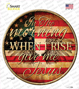 When I Rise Wholesale Novelty Circle Sticker Decal