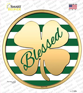 Blessed Wholesale Novelty Circle Sticker Decal