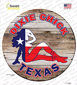 Dixie Chicks Texas Wholesale Novelty Circle Sticker Decal
