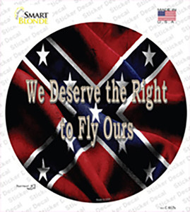 We Deserve The Right Wholesale Novelty Circle Sticker Decal
