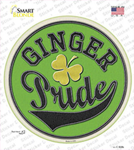 Ginger Pride Wholesale Novelty Circle Sticker Decal