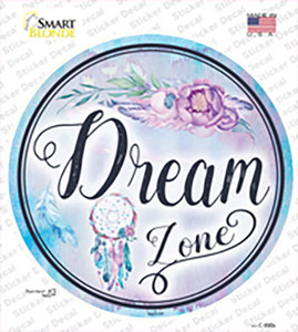 Dream Zone Wholesale Novelty Circle Sticker Decal