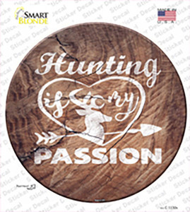 Hunting Passion Wholesale Novelty Circle Sticker Decal