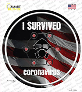 I Survived Wholesale Novelty Circle Sticker Decal