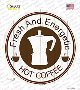 Fresh and Energized Wholesale Novelty Circle Sticker Decal