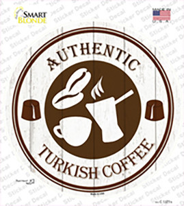 Authentic Turkish Wholesale Novelty Circle Sticker Decal