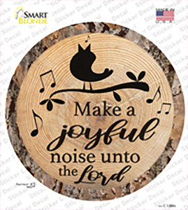 Joyful Noise Wholesale Novelty Circle Sticker Decal