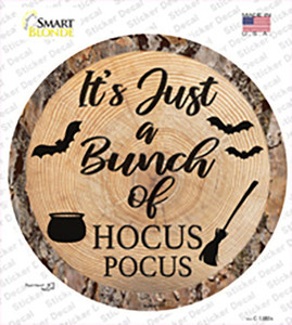 Bunch of Hocus Pocus Wholesale Novelty Circle Sticker Decal