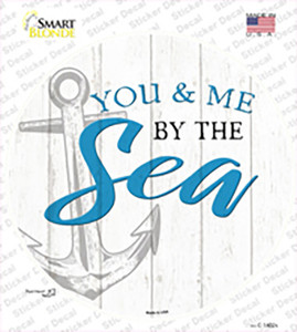 You and Me by the Sea Wholesale Novelty Circle Sticker Decal