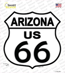 Arizona Route 66 Wholesale Novelty Highway Shield Sticker Decal