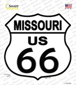 Missouri Route 66 Wholesale Novelty Highway Shield Sticker Decal