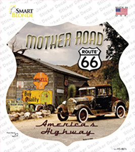 Route 66 Mother Road Wholesale Novelty Highway Shield Sticker Decal
