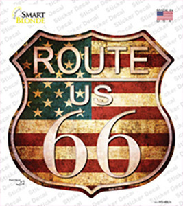 Route 66 American Vintage Wholesale Novelty Highway Shield Sticker Decal