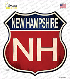 New Hampshire Wholesale Novelty Highway Shield Sticker Decal