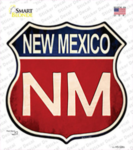 New Mexico Wholesale Novelty Highway Shield Sticker Decal