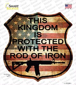 American Vintage AR-15 Wholesale Novelty Highway Shield Sticker Decal