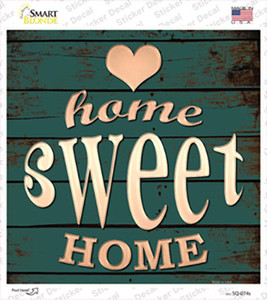 Home Sweet Home Wholesale Novelty Square Sticker Decal