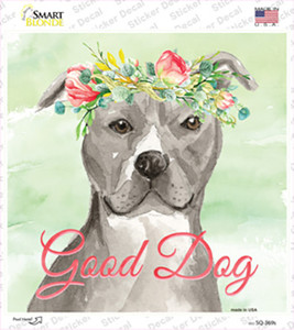 Staffordshire Terrier Good Dog Wholesale Novelty Square Sticker Decal