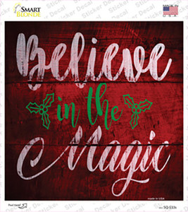 Believe In Magic Wholesale Novelty Square Sticker Decal