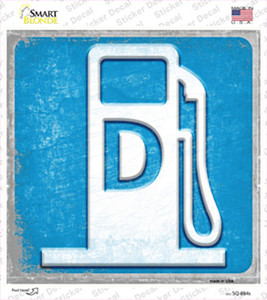 Diesel Wholesale Novelty Square Sticker Decal