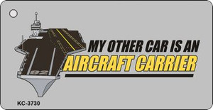 Aircraft Carrier Wholesale Novelty Key Chain