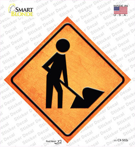 Digger Ahead Wholesale Novelty Diamond Sticker Decal