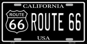 Route 66 California Wholesale Metal Novelty License Plate