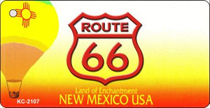 New Mexico Shield Route 66 Novelty Wholesale Metal License Plate