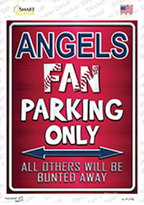 Angels Wholesale Novelty Rectangle Sticker Decal