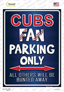 Cubs Wholesale Novelty Rectangle Sticker Decal