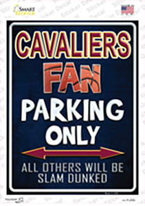 Cavaliers Wholesale Novelty Rectangle Sticker Decal