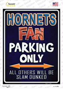 Hornets Wholesale Novelty Rectangle Sticker Decal