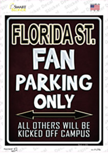 Florida State Wholesale Novelty Rectangle Sticker Decal