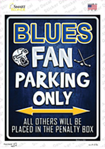 Blues Wholesale Novelty Rectangle Sticker Decal