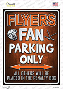 Flyers Wholesale Novelty Rectangle Sticker Decal