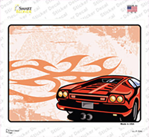 Classic Car Wholesale Novelty Rectangle Sticker Decal
