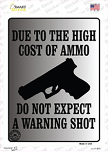 Cost of Ammo Wholesale Novelty Rectangle Sticker Decal
