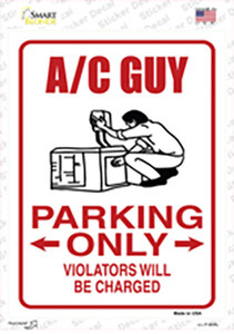 AC Guy Only Wholesale Novelty Rectangle Sticker Decal