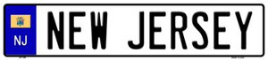 New Jersey Novelty Wholesale Metal European License Plate