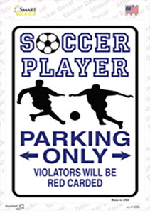 Soccer Only Wholesale Novelty Rectangle Sticker Decal
