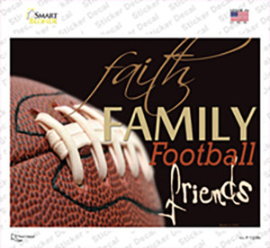 Football Family Wholesale Novelty Rectangle Sticker Decal