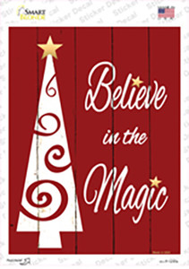 Believe In The Magic Wholesale Novelty Rectangle Sticker Decal