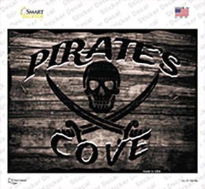 Pirates Cove Wholesale Novelty Rectangle Sticker Decal