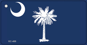 South Carolina State Flag Wholesale Novelty Key Chain KC-469