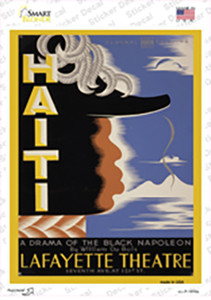 Lafayette Theatre Vintage Poster Wholesale Novelty Rectangle Sticker Decal