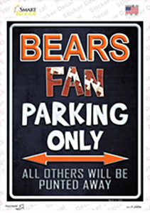 Bears Wholesale Novelty Rectangle Sticker Decal