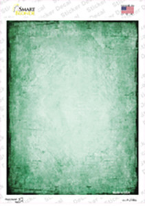 Distressed Green Wholesale Novelty Rectangle Sticker Decal