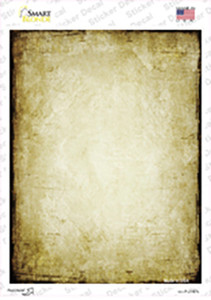 Distressed Brown Wholesale Novelty Rectangle Sticker Decal