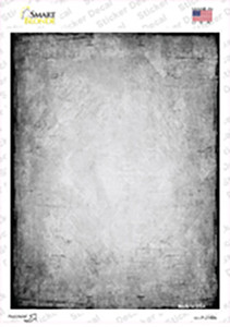 Distressed Grey Wholesale Novelty Rectangle Sticker Decal